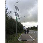Уличное освещение c применением светильников на солнечных батареях