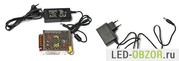 Схемы led драйверов и блоков питания светодиодных лент
