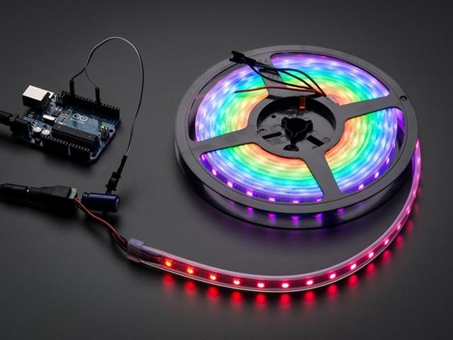 Адресные светодиоды и светодиодные ленты - как устроены и работают, подключение и управление