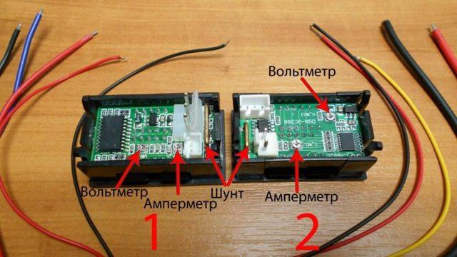 Подключение амперметра и вольтметра в сети постоянного и переменного тока