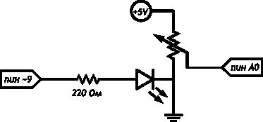 Подключение аналоговых датчиков к Ардуино, считывание показаний датчиков