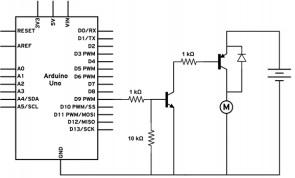Управление двигателями и сервоприводами с помощью Ардуино