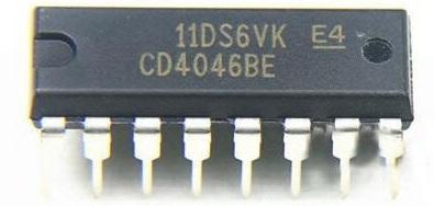 Микросхема 4046 (К564ГГ1) для устройств с удержанием резонанса - принцип работы