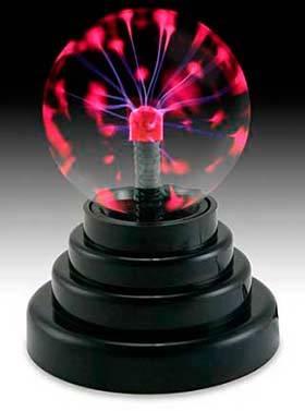 Плазменные лампы - как устроены и работают