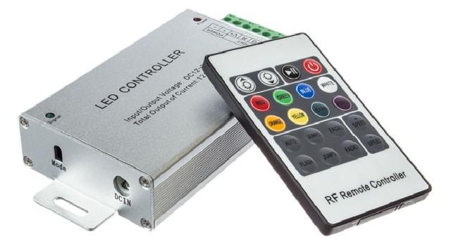 Контроллер и усилитель для rgb-ленты: расчет, схемы подключения