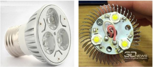 Пульсации и мерцание светодиодных ламп и других источников света
