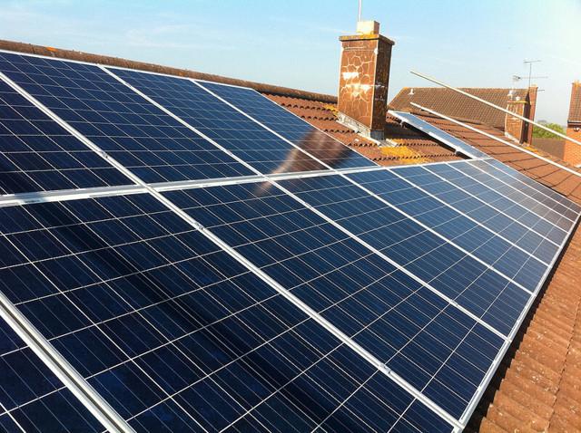 Схема подключения солнечных батарей