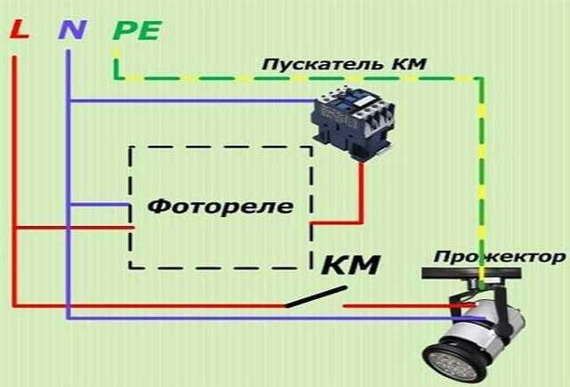 Схема датчика освещенности для включения света, устройство и принцип действия - три примера