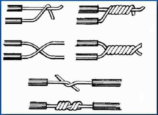 Как соединять провода и кабели разного сечения