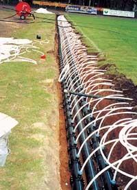 Системы обогрева грунта - как устроены и работают
