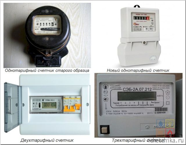 Как снять показания счетчика электроэнергии