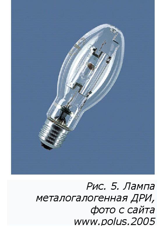 Какие лампы сейчас используются в уличном освещении