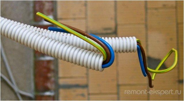 Замкнутая кольцевая проводка и ее использование
