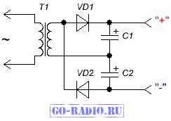 Как происходит выпрямление переменного тока