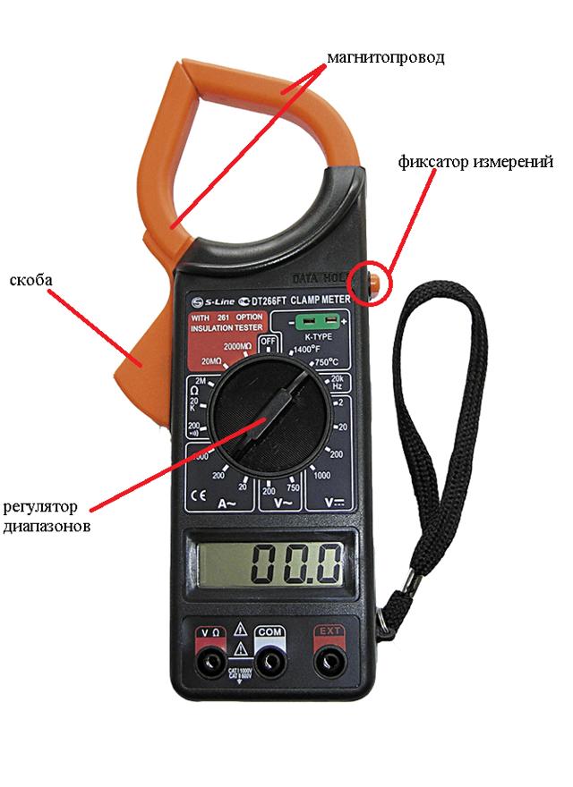 Примеры применения токовых клещей на практике