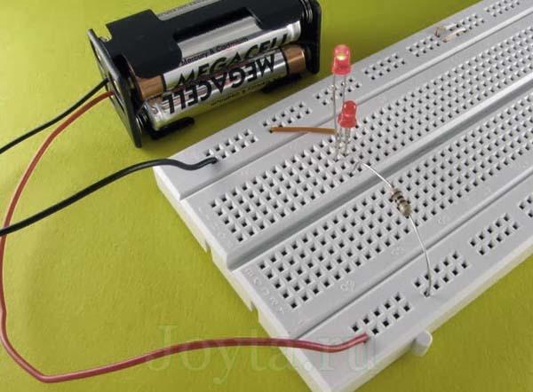 Как правильно рассчитать и подобрать резистор для светодиода