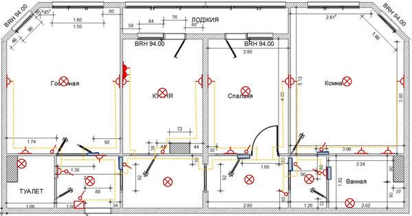 Как выполнить разделение электропроводки по группам потребителей в частном доме и квартире