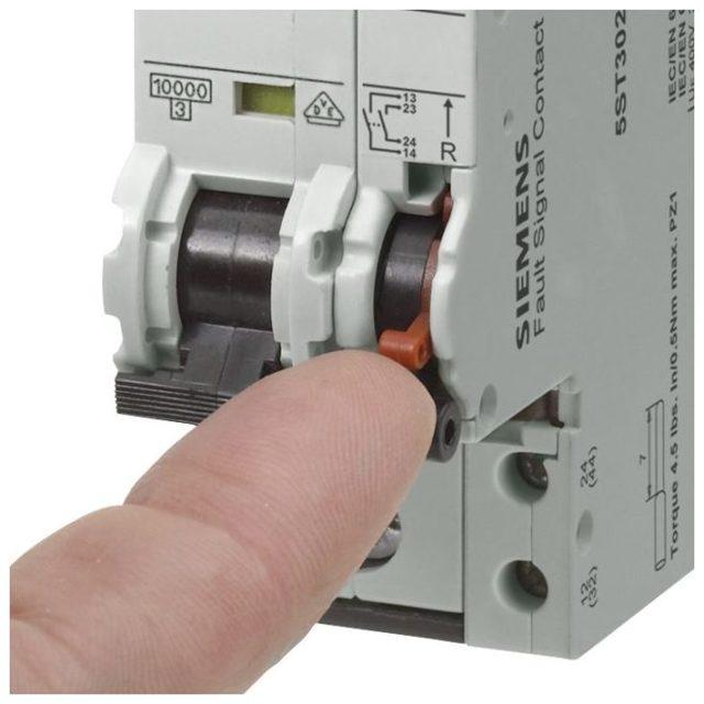 Тепловой расцепитель автоматического выключателя