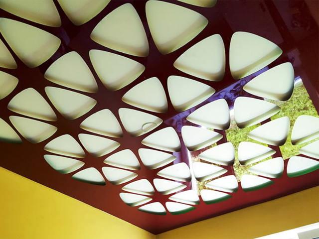 Освещение натяжных потолков на фото (+50 фото)
