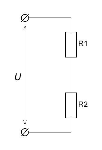 Делитель напряжения на резисторах, конденсаторах и индуктивностях