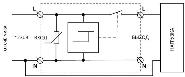 Устройство защиты многофункциональное УЗМ - схема подключения и принцип работы
