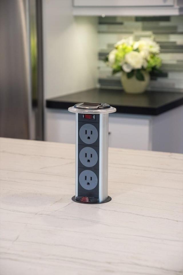 Примеры схем расположения розеток, выключателей и подсветки на кухне - полезные советы