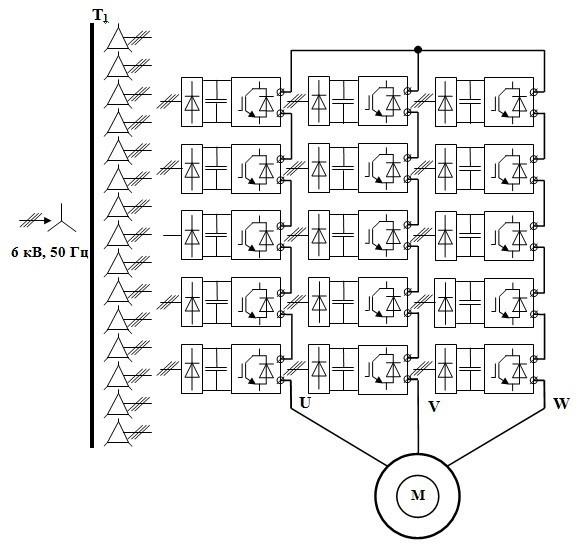 Устройство управления однофазным асинхронным двигателем