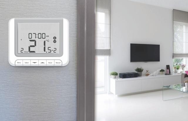 Как устроены и работают программируемые комнатные термостаты для теплых полов