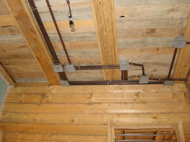 Как защитить электропроводку на даче