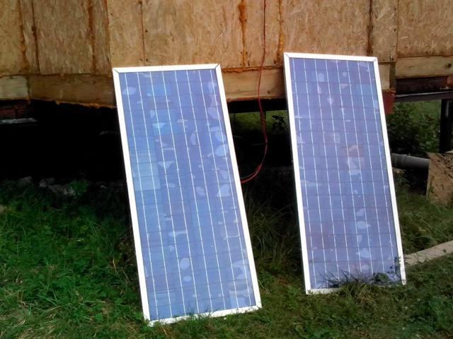Самодельные солнечные батареи и их промышленные аналоги