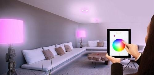 Управление освещением в доме