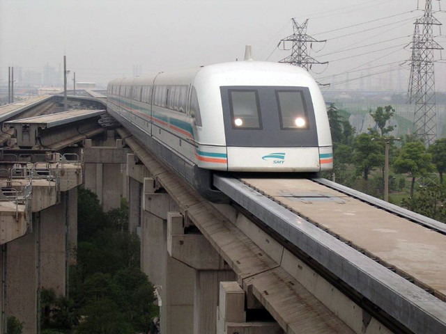 Все самое интересное о поездах на магнитном подвесе