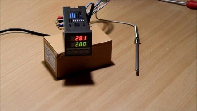 Простой терморегулятор своими руками