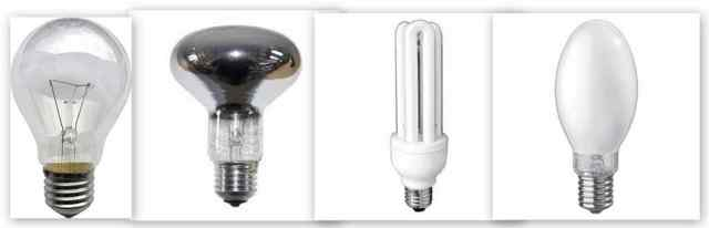 Виды цоколей для ламп