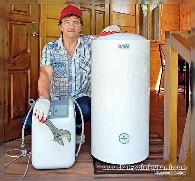 Самостоятельно проводим профилактику водонагревателя