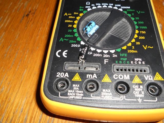 Как определить неисправность конденсаторов