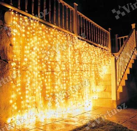 Световые украшения зданий и сооружений для новогодних праздников