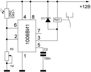 Какие практические схемы можно сделать на таймере 555