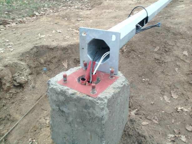 Как проложить кабель и подключить светильники на приусадебном участке