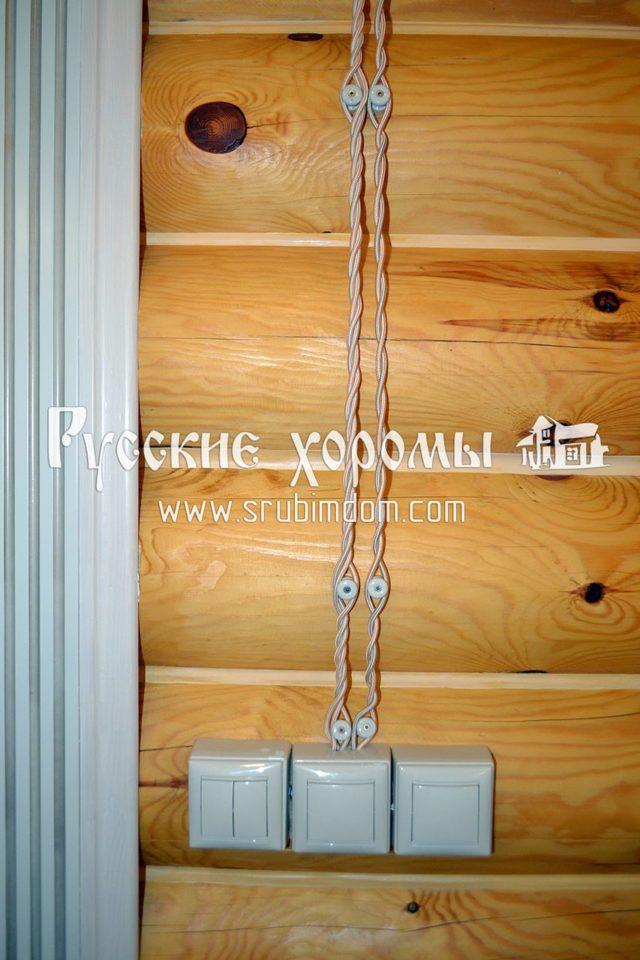 Безопасная электропроводка в деревянном доме: не миф, а реальность