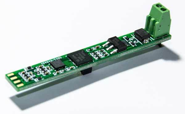 Простой адаптер RS-232 -