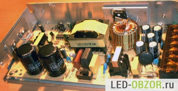 Блоки питания для светодиодных лент