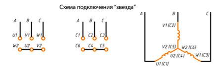 Подключение трёхфазного двигателя к бытовой сети
