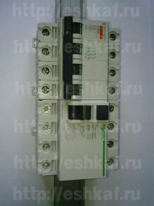 Состав домового электрощитка