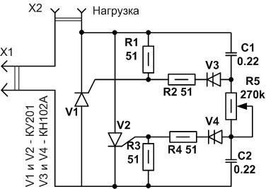 Самодельные светорегуляторы. Часть третья. Как управлять тиристором?