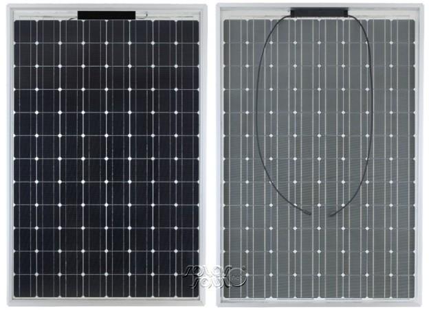 Двусторонние солнечные элементы