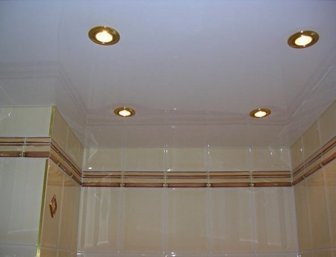 Электроснабжение и освещение ванной комнаты