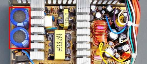 Ремонт компьютерного блока питания своими руками