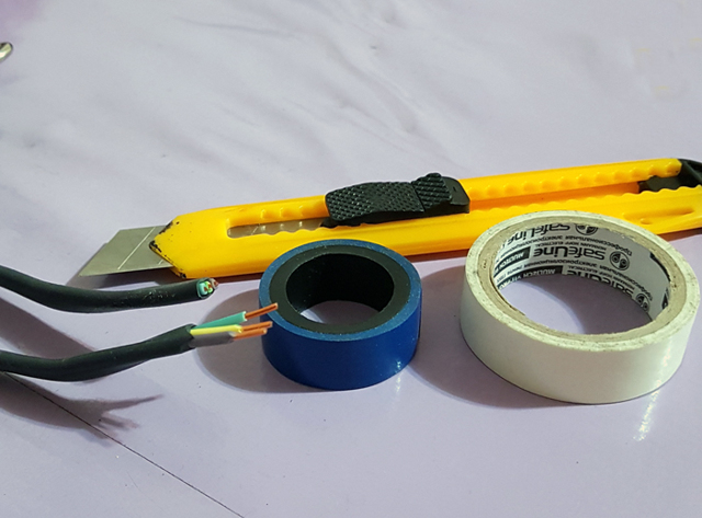 Как отремонтировать удлинитель
