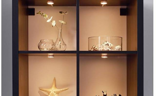 Применение точечных потолочных светильников